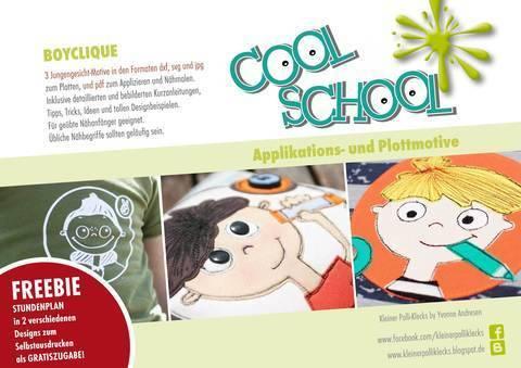 Plotterdateien • Cool School • Boyclique