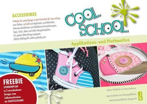 Plotterdateien • Cool School • Accessoires