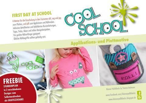 Plotterdateien • Cool School • 1st day at school