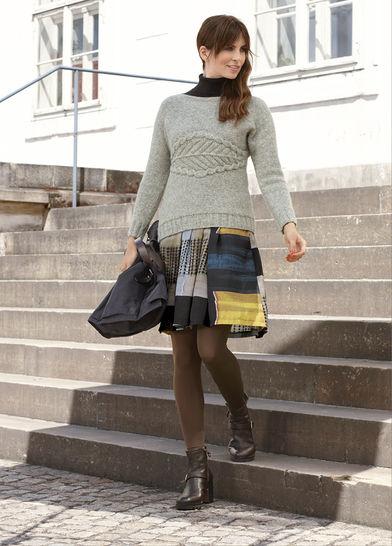 Pullover Lucille Strickanleitung bei Makerist - Bild 1