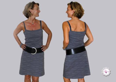 BeeSummer No.2 - Top/Kleid Spagettiträger Gr. 32 - 46 bei Makerist