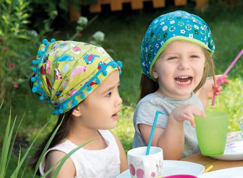 Extrabreite Stirnbänder Nähanleitung bei Makerist
