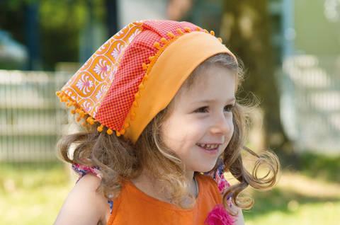Gypsie-Kopftuch für heiße Tage Nähanleitung mit Schnittmuster