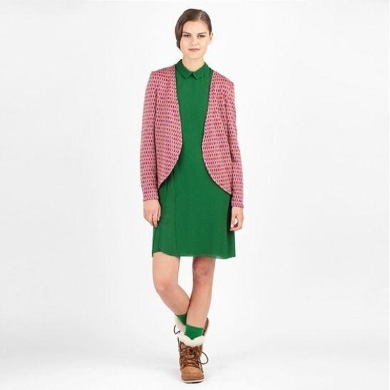 Veste Lola - Patron de couture et tutoriel en Français/Anglais/Allemand chez Makerist - Image 1