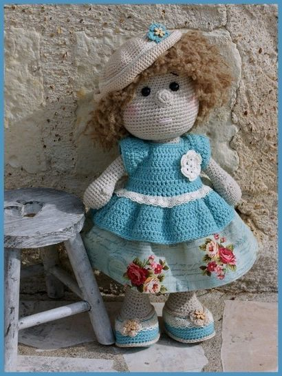 Pétronille, crochet doll at Makerist - Image 1