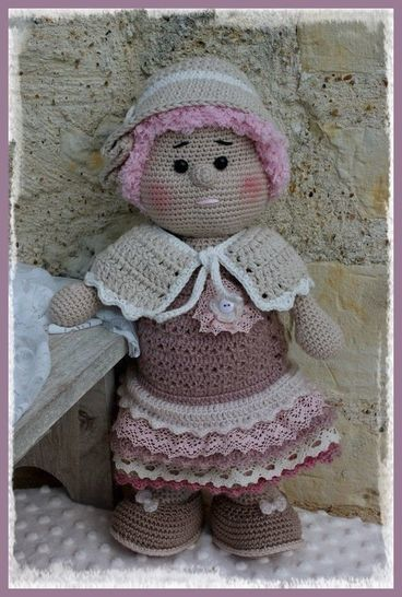 Fantine, the romantic doll at Makerist - Image 1
