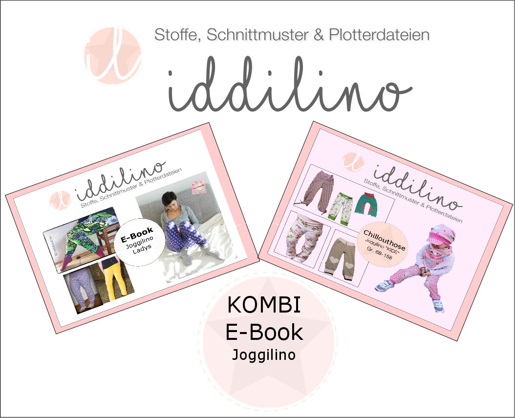 Kombi E-Book Joggilino Kids (68-158) +Ladys (34-46)