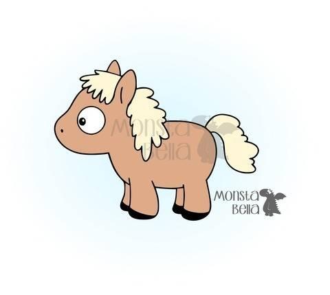 Plotterdatei Ojos Pferd
