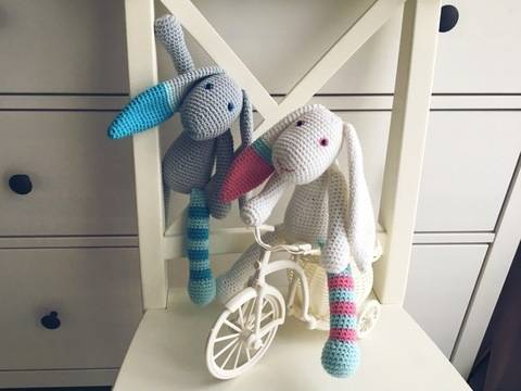 Crochet Pattern Easter Bunny at Makerist