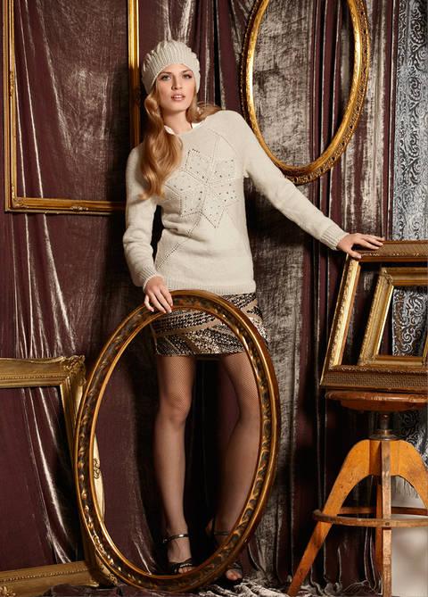 Pullover und Mütze Francesse Strickanleitung