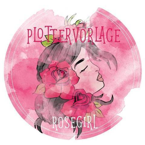 "Plottervorlage ""Rosegirl"""