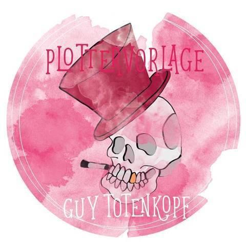 """Plottervorlage """"Guy Totenkopf"""""""