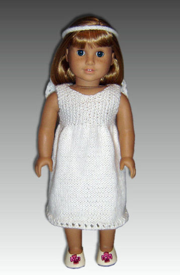 18 inch doll, first communion dress. at Makerist - Image 1