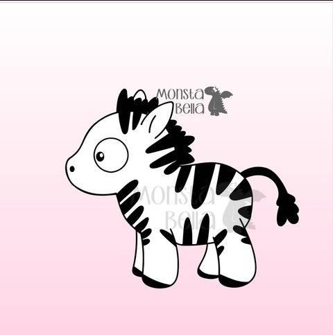 Plotterdatei Ojos Zebra