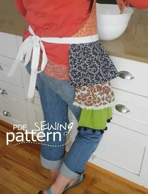 Abbie Apron - Sewing Pattern at Makerist