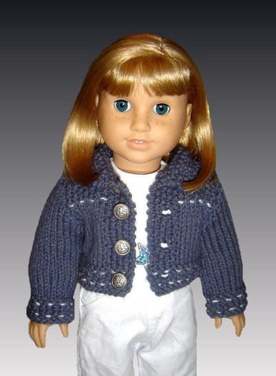 18 inch doll. Jean jacket and skirt. at Makerist - Image 1