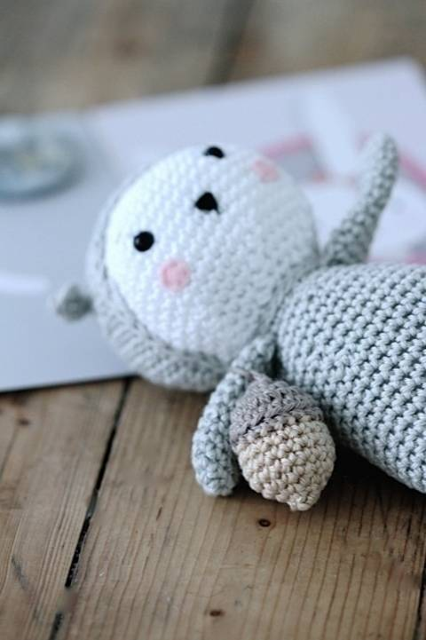Sweet squirrel English version by Agathe Rose chez Makerist