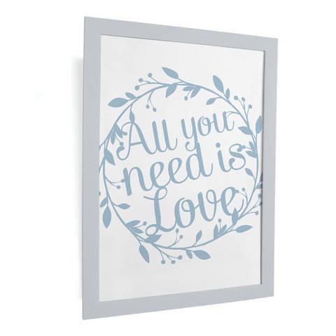 Plotterdatei - All you need is love - PNG, SVG, DXF