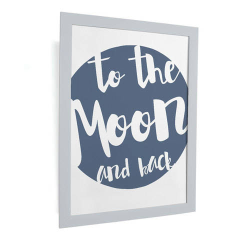 Plotterdatei - To the moon and back - SVG, DXF, PNG