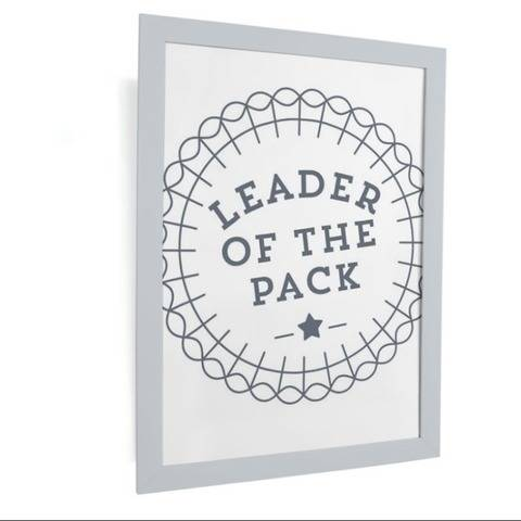 Plotterdatei - Leader of the pack - SVG, PNG, DXF