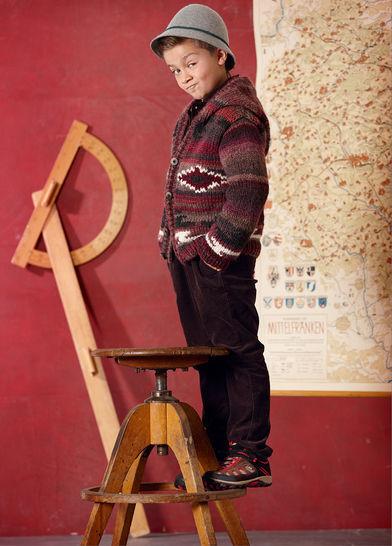 Jacke Anakin Strickanleitung bei Makerist - Bild 1