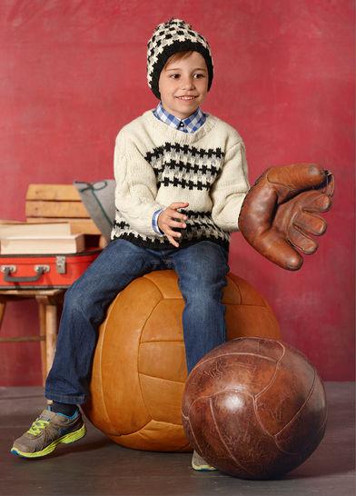 Pullover und Mütze Kenan Strickanleitung bei Makerist - Bild 1
