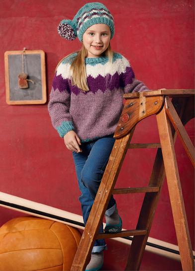 Pullover und Mütze Ceyda Strickanleitung bei Makerist - Bild 1