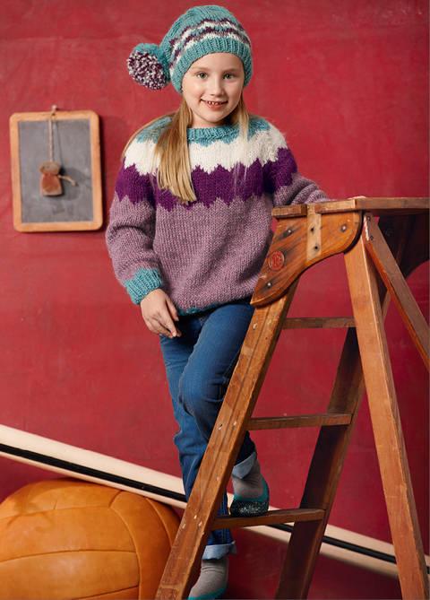 Pullover und Mütze Ceyda Strickanleitung