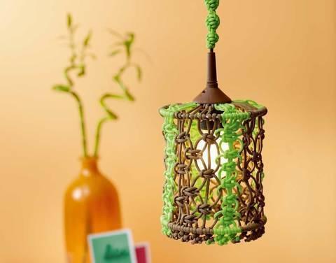 Paracord-Lampenschirm Knüpfanleitung bei Makerist