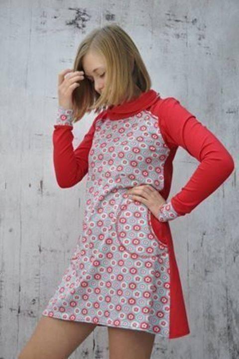 Ebook Shirtkleid Miss Mili, Nähanleitung und Schnittmuster  bei Makerist