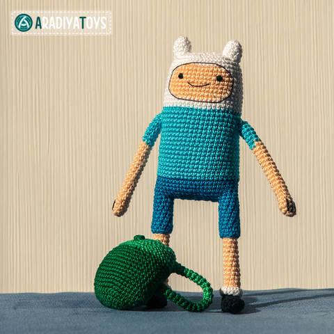 Modèle au crochet de Finn de «Adventure Time» chez Makerist