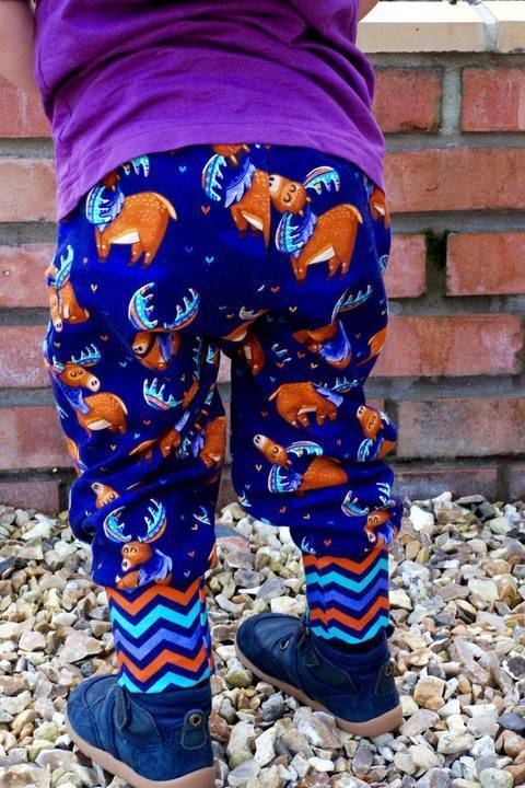 Comfy Legs Jogging Bottoms Joggers PDF Sewing Pattern at Makerist