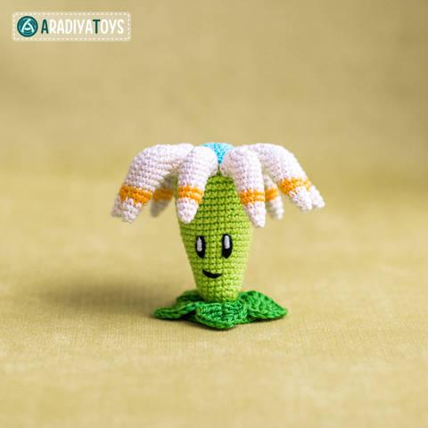 Modèle au crochet de Boomerang floral de «Plantes vs. Zombies» chez Makerist
