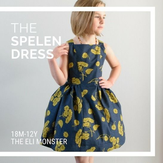 The Spelen Dress PDF Sewing Pattern at Makerist - Image 1