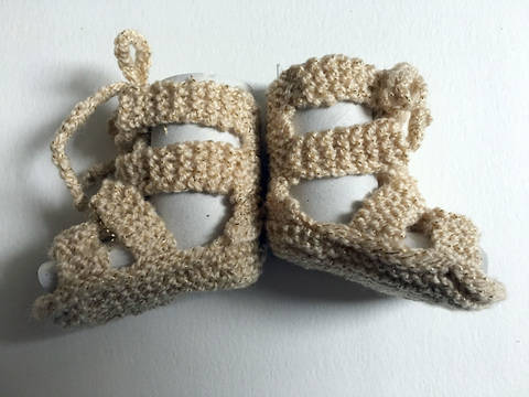 Baby knitted Gladiators  at Makerist