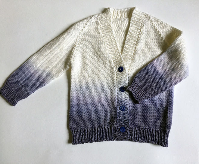 Ombre Baby Cardigan at Makerist - Image 1