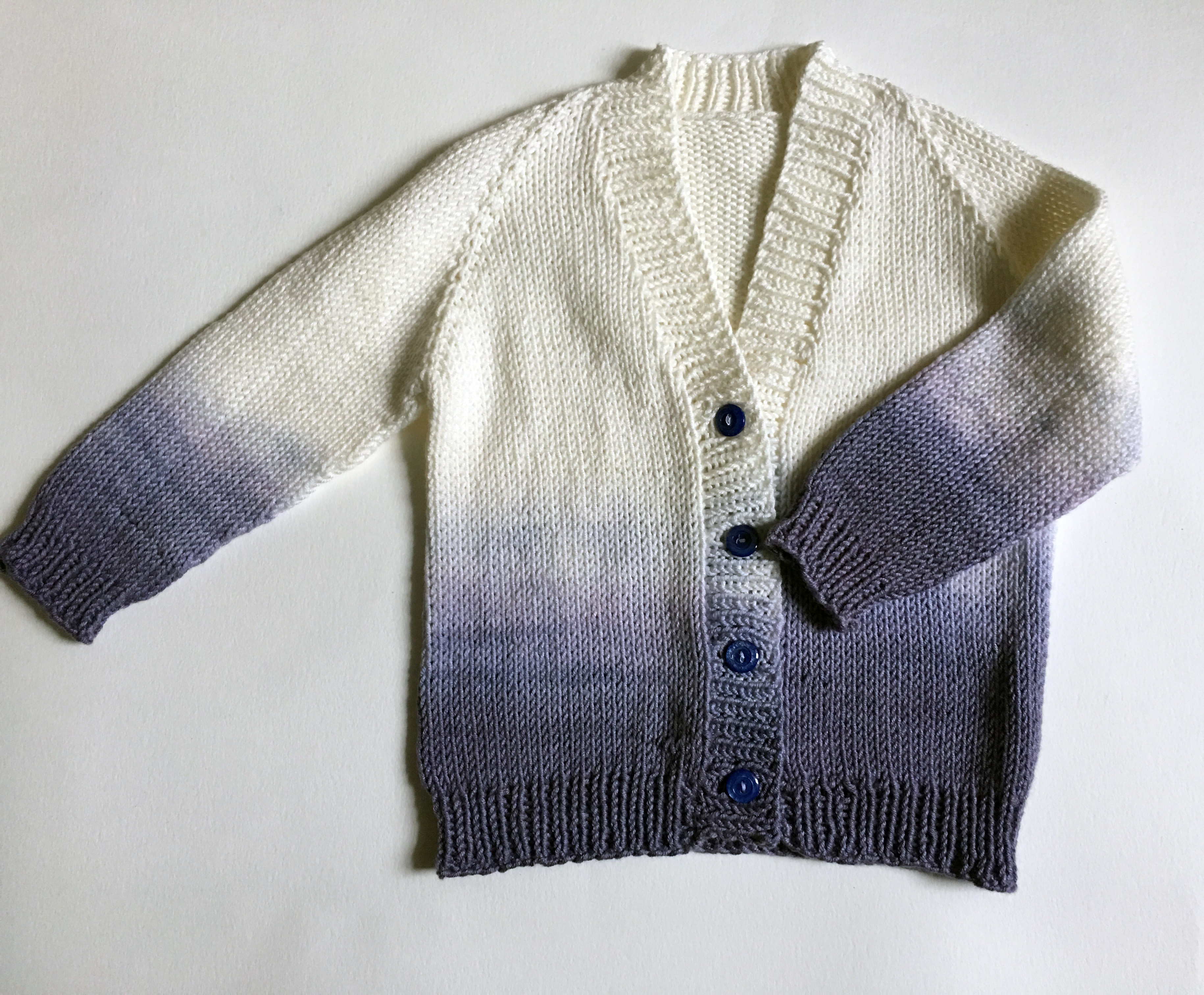 Ombre Baby Cardigan