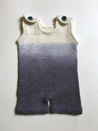 Ombre Boy Romper at Makerist - Image 1