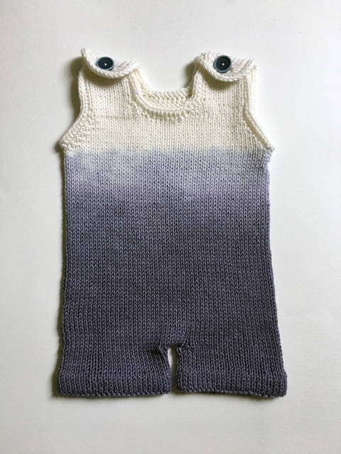 Ombre Boy Romper at Makerist