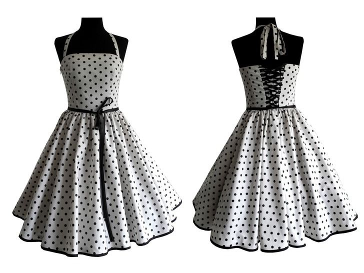 Therese: petticoat dress with back lacing – sizes 34-54 (EU) 6-24 (US) + picture sewing instruction at Makerist - Image 1