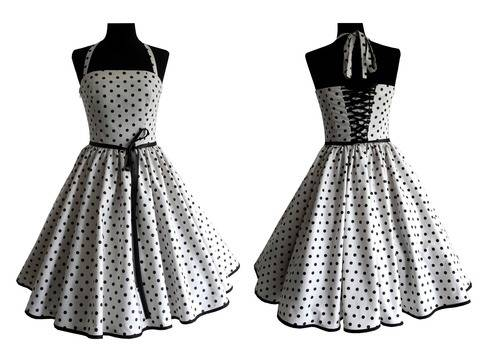 Therese: petticoat dress with back lacing – sizes 34-54 (EU) 6-24 (US) + picture sewing instruction