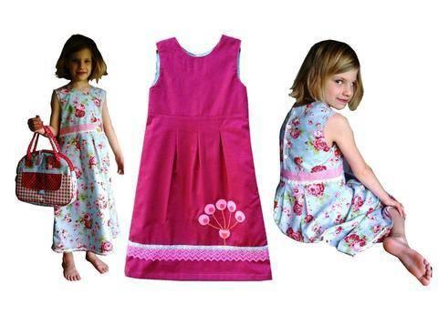 Nähanelitung und Schnittmuster Kleid Ida bei Makerist