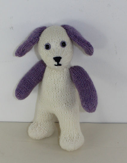 Cute Cuddly Toy Puppy Dog at Makerist - Image 1