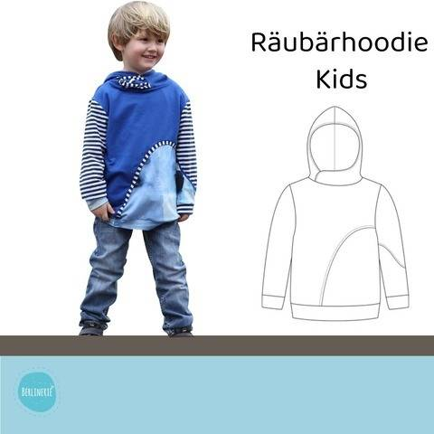 Ebook Räubärhoodie Kids Gr. 98-146 bei Makerist