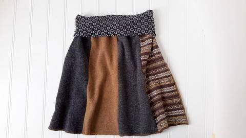 Women Skirt Pattern - Sizes US 2-14 at Makerist