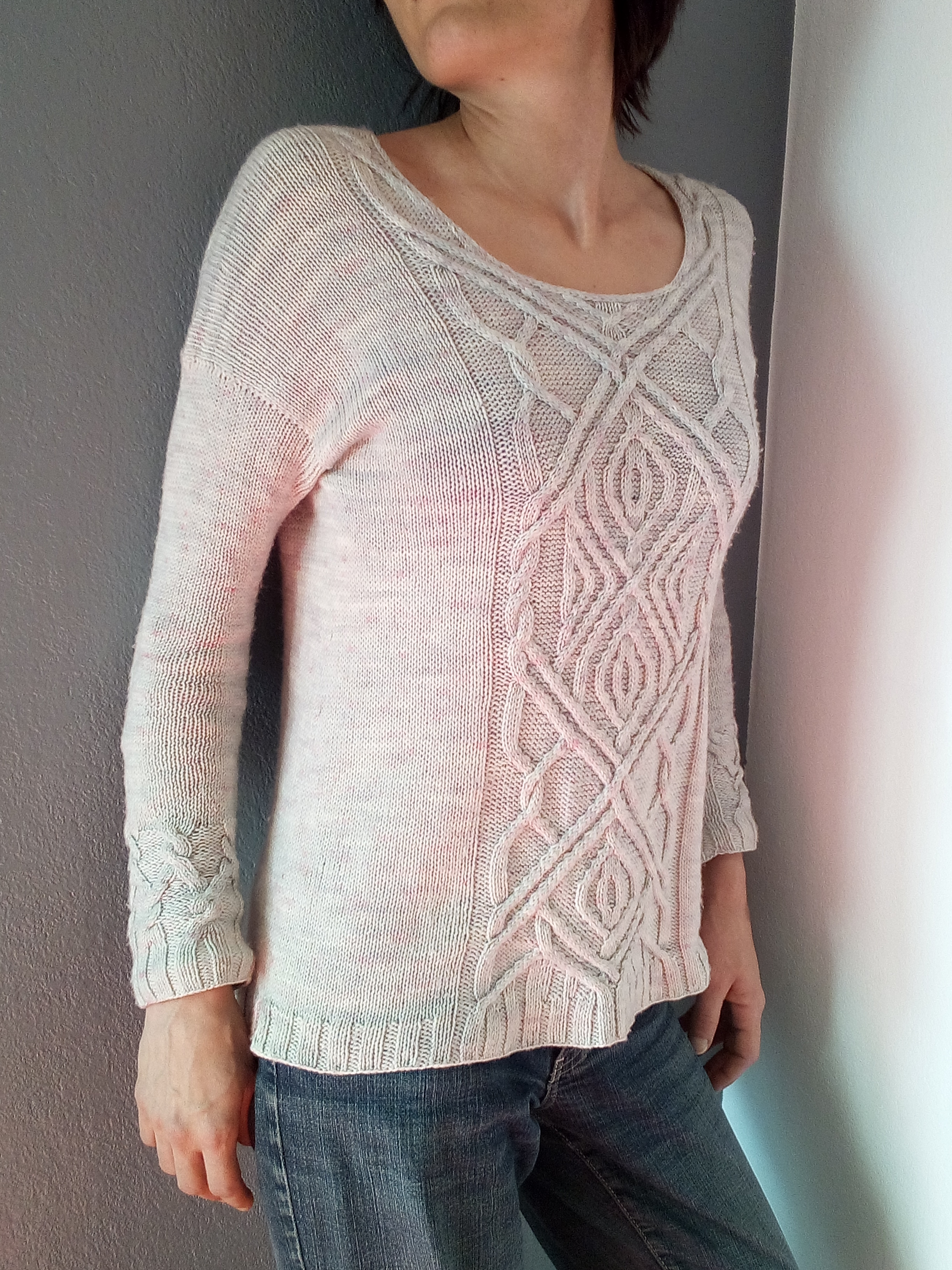The ropes of life - pull - modèle tricot