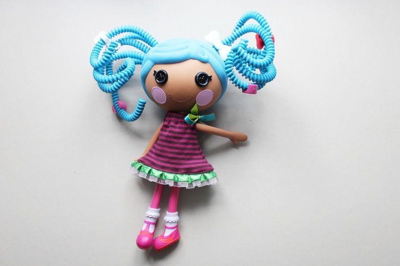 """Freebook für Puppenkleid  für 30cm-Puppen """"Lalaloopsy"""" bei Makerist - Bild 1"""