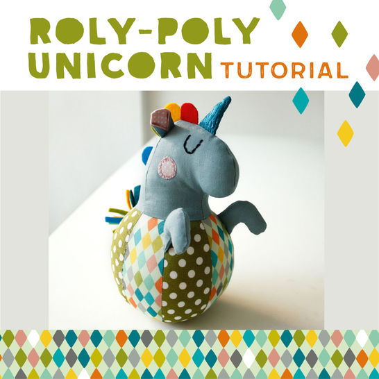Roly-poly Unicorn for babies - pattern & sewing instructions at Makerist - Image 1