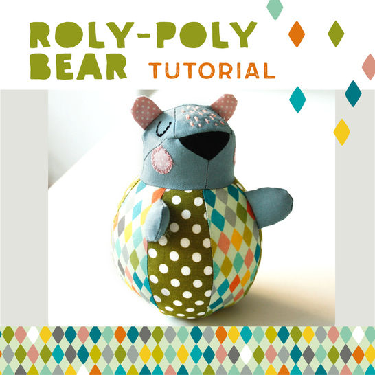 Roly-poly Bear for babies - pattern and sewing instructions at Makerist - Image 1