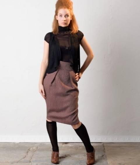 Jupe Minu - Patron de couture avec tutoriel en Français chez Makerist